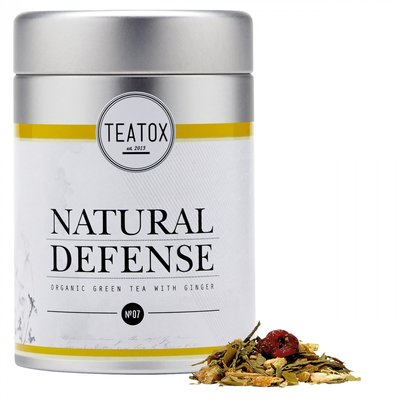 Natural Defense (Organic Green Tea With Ginger)