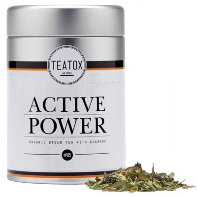 Active Power (Organic green tea with guarana)
