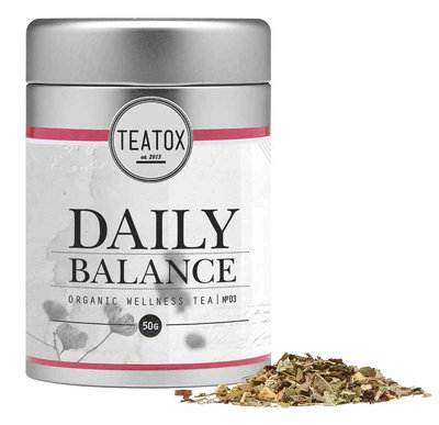 Daily Balance (Organic Herbal Tea With Lemongrass)